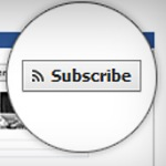 Facebook launches 'subscribe' button