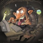 The Psychology of an Internet troll