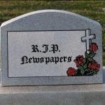 Newspapers 'dead' in 10 years – Murdoch